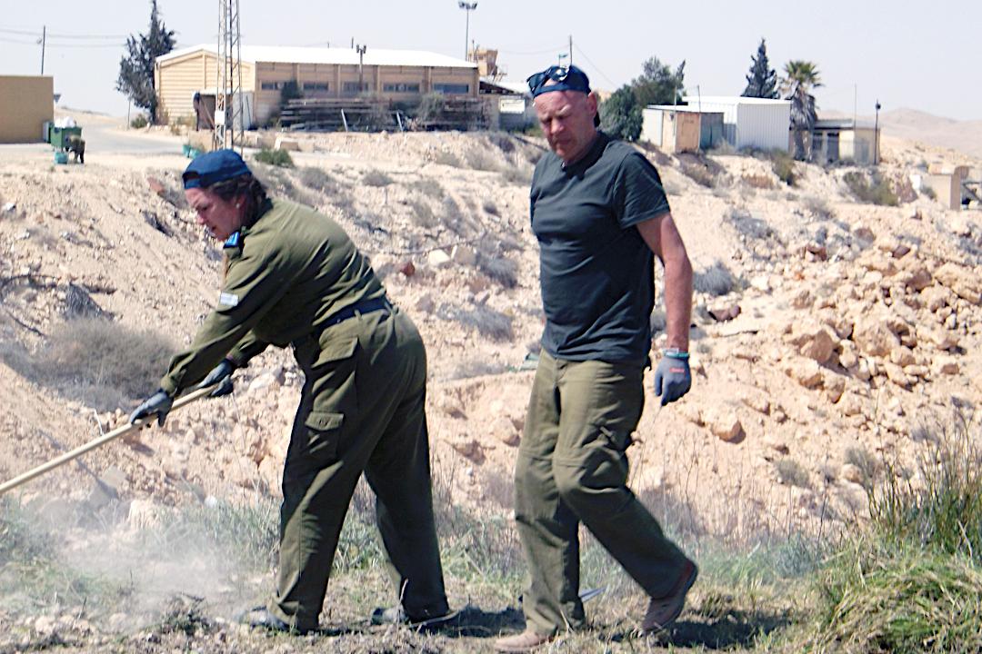 Võitlus kõrbega