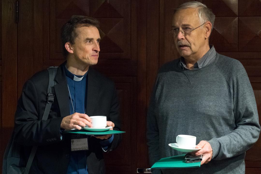 EMK Superintentent Taavi Hollman ja Andres Kapp. Foto Endel Apsalon / EELK