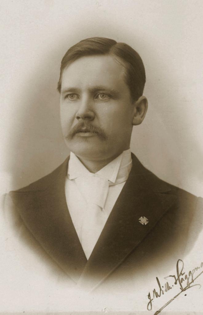 Helsingi Teoloogilise Seminari esimene rektor Jonas Wilhelm Häggman.