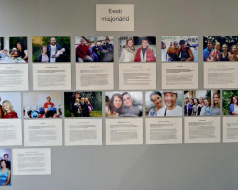 Kunst teeb misjonit näituse pilt