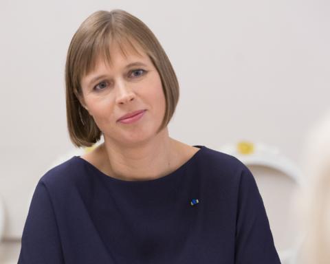 President Kersti Kaljulaid