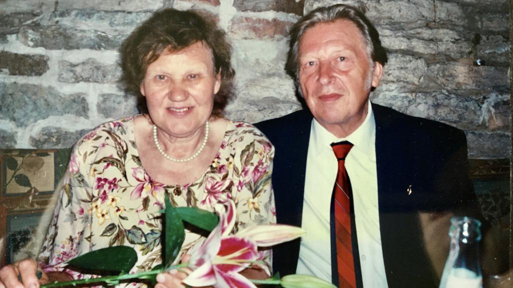 Georg ja Jekaterina Lanberg 90-ndate lõpus